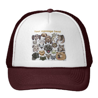 Cats n Dogs Mesh Hats