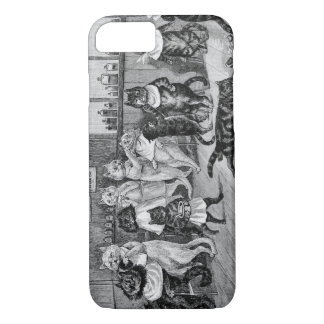 Cats of Barber, Louis Wain iPhone 7 Case