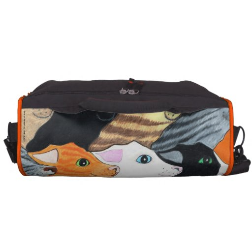 Cats on Parade Commuter Bag