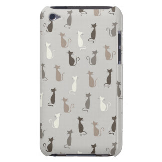 Cats pattern barely there iPod cases