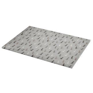 Cats pattern cutting board