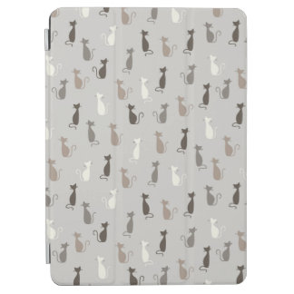 Cats pattern iPad air cover