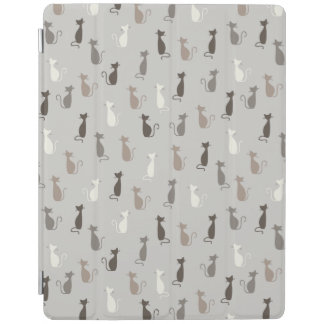 Cats pattern iPad cover
