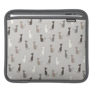 Cats pattern iPad sleeve