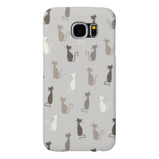 Cats pattern samsung galaxy s6 cases