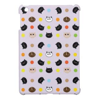 cats patterns iPad mini case