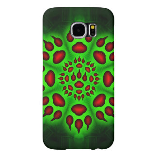 Cats Paw Circle Samsung Galaxy S6 Cases