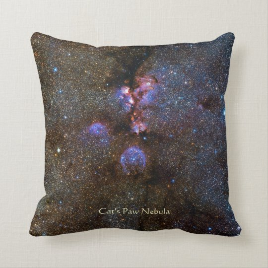 Cats Paw Nebula - NGC 6334 Cushion