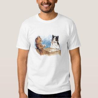 Cats Playing Poker Tshirt