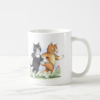 Cats Power Walking Classic Mug
