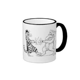 Cats Pulling Cracker Mug