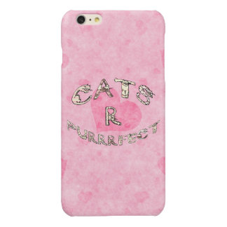 CATS R PURRRFECT iPhone 6 PLUS CASE