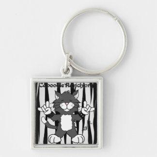 'Cats Rock!' Keychain