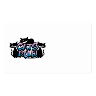 Cats Rule 2011 Pack Of Standard Business Cards