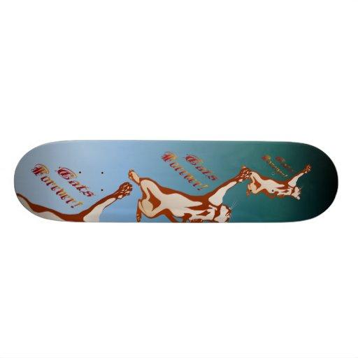 Cats Rule Forever Skateboard