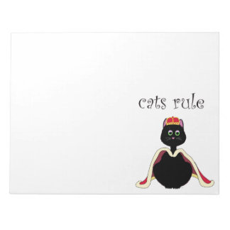 Cats Rule Notepad