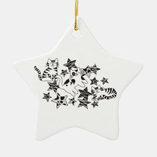 Cats & Stars ~ Ornament