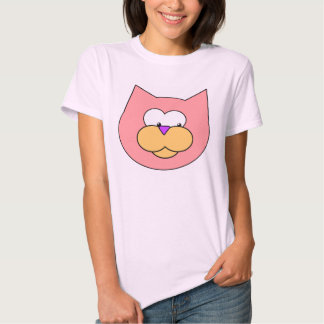 Cats t-shirts with a picture of a pink cats