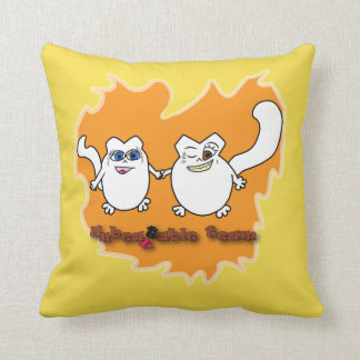 Cat's team cushion