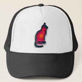 Cats textile trucker hat