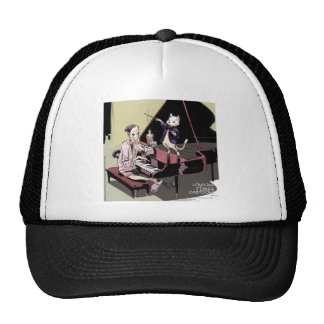 Cats That Take Over & Conduct Everything Funny Trucker Hat