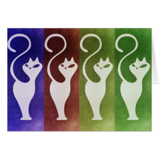 Cats Whiskers Note Card