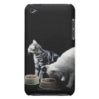 Cats with bowl of food barely there iPod covers