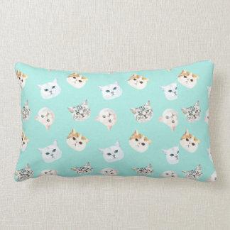 Cats World Lumbar Pillow