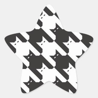 CatsTooth Pattern Stickers