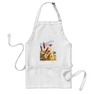 cattails adult apron