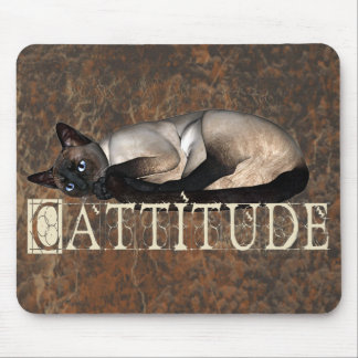 Cattitude Mouse Pad