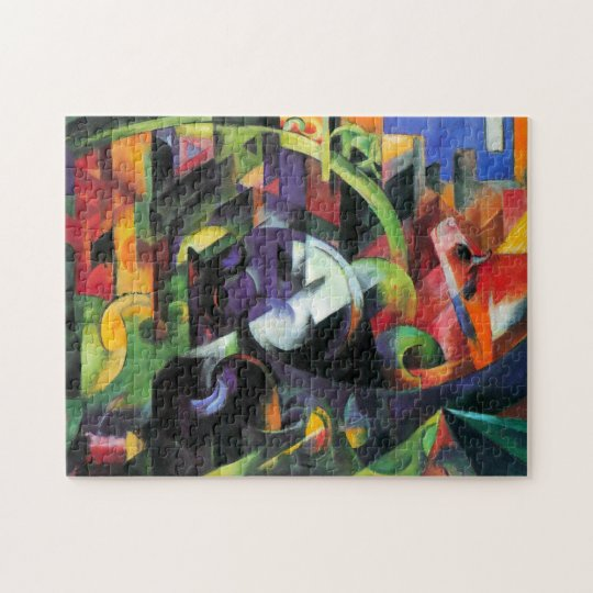 Cattle by Franz Marc, Vintage Abstract Fine Art