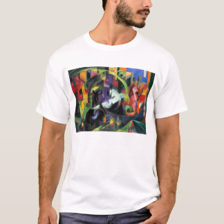 Cattle by Franz Marc, Vintage Abstract Fine Art T-Shirt