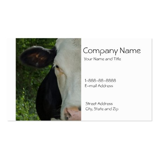 Collections of cattle ranch business cards cattle dairy farmer business card colourmoves