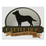 Cattle Dog Poster