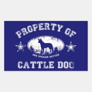 Cattle Dog Rectangular Sticker