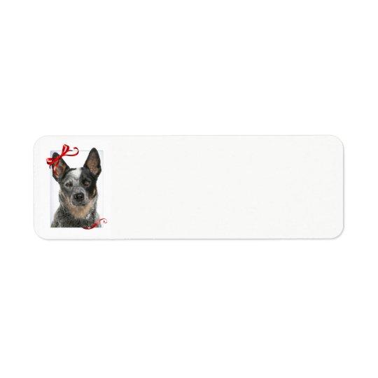 Cattle Dog Return Address Labels