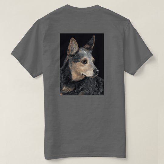 "Cattle Dog T-shirt - ""Quigley"""