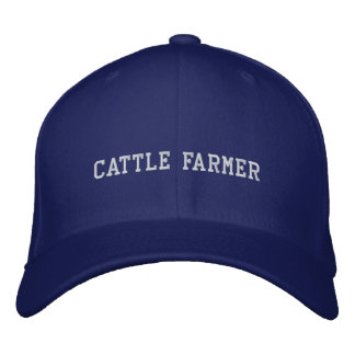 Cattle Farmer Embroidered Cap