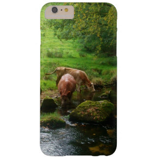 Cattle Golitha Falls River Fowey Cornwall England Barely There iPhone 6 Plus Case