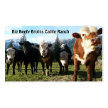 Cattle Herd on Country Farm Pack Of Standard Business Cards