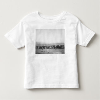 Cattle Herding in South Dakota Photograph Toddler T-Shirt