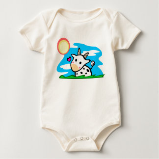 Cattle love the sun baby bodysuit