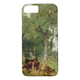 Cattle on a Devonshire Lane iPhone 8/7 Case
