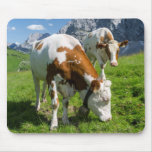 Cattle On High Pasture In Karwendel Mountain 2 Mouse Mat