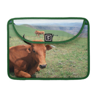 Cattle On Hill, Eastern Cape, South Africa Sleeves For MacBook Pro