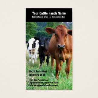 Cattle on Pasture Business Card