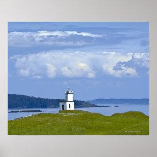 Cattle Point Lighthouse on San Juan Island, WA Poster