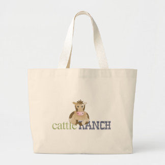 cattle ranch tote bags