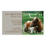 Cattle Rancher Farmer  Business Card